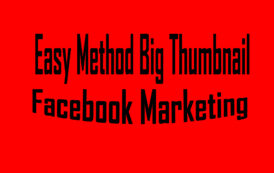 FB ম্যাথড ব্যবহার করে Big Thumbnail তৈরী করুন