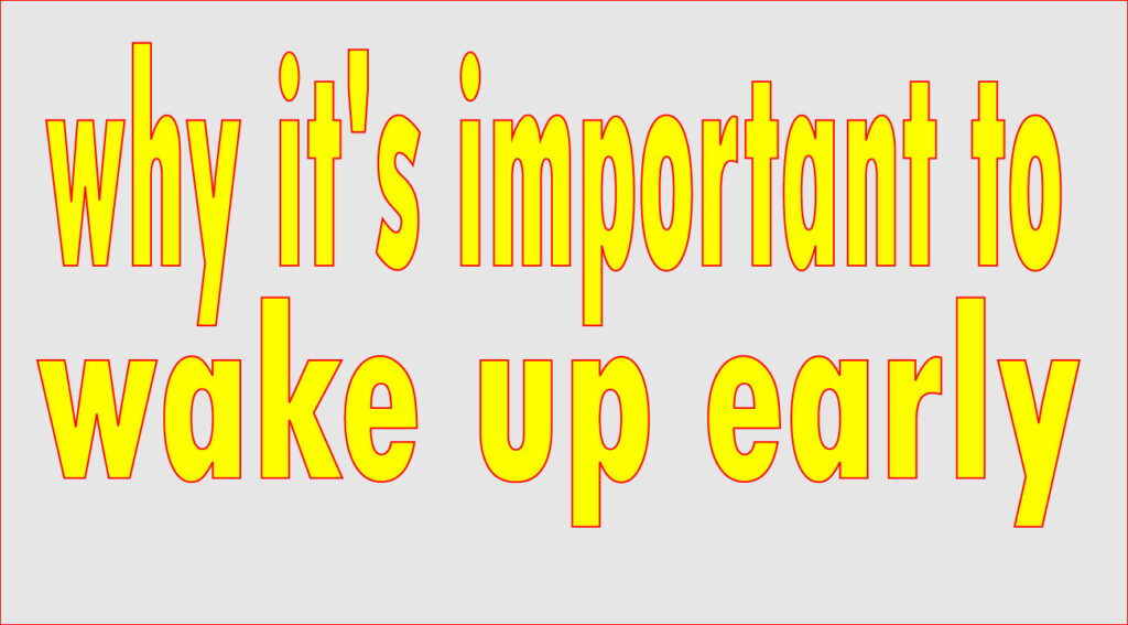 wake-up-early