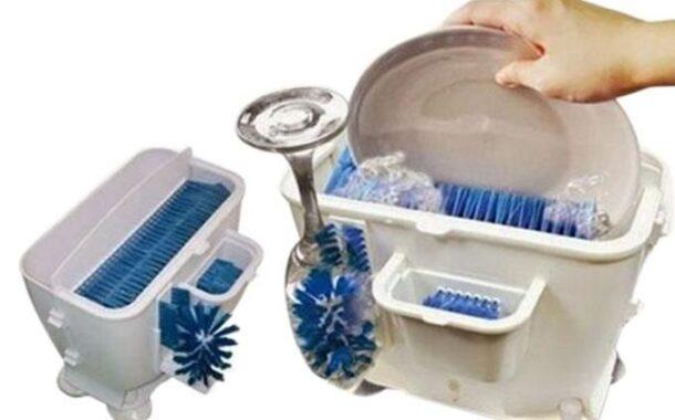 ঈদ আসছে আর সাথে হবে প্রচুর অনুষ্ঠান। এতে প্লেট ধোয়া একটু কষ্টদায়ক। তাই নিয়ে নিন স্মাট Wash n Bright Easy Dishwasher - White & Blue