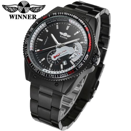 Winner Men's Mechanical Sports Watch